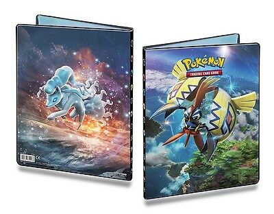 Pokemon SUN & MOON 2 - A4- 9 Pocket Portfolio ** Binder Holds 90-180 Cards