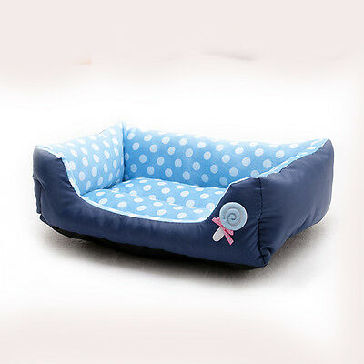 Large Small Soft Comfort Pet Dog Doghole Lollipop Bed Puppy Sofa Kennel Cushion