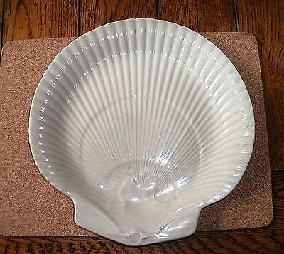 Wedgwood Moonstone White Shell Shaped Serving Dinner