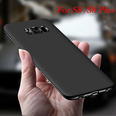 FOR SAMSUNG GALAXY S8 PLUS Luxury Ultra Thin Shockproof Matte Soft Case Cover