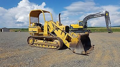 1980 John Deere 350C Tracked Loader w/ 4/1 MP Bucket Hydraulic Diesel Machinery