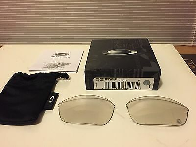 NEW OAKLEY Half Jacket 2.0 Replacement Lens Clear-Black PHOTOCHROMIC, 41-747