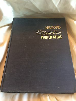 1969 Hammond Medallion World Atlas