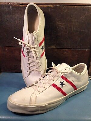 Collectors: Vintage Leather Converse All Star Chuck Taylors Men's 16! USA!!!