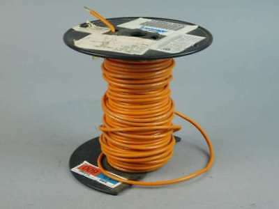 100ft Spool of 12AWG Orange, Stranded, Machine Tool Wire 1015-12/65-3 - NEW S...