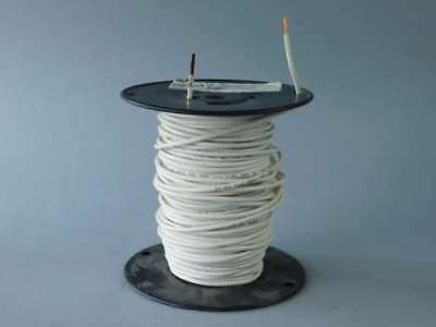 190ft Spool of 12AWG White, Stranded, Machine Tool Wire 650323 - NEW Surplus!