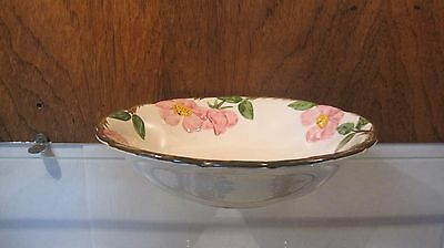 "Franciscan DESERT ROSE ☆ 8"" Round Vegetable Serving Bowl ☆ California Back Stamp"