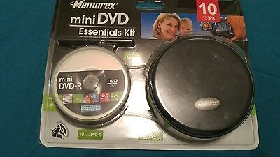 Memorex Mini DVD Essentials kit (Bonus 9 extra discs)