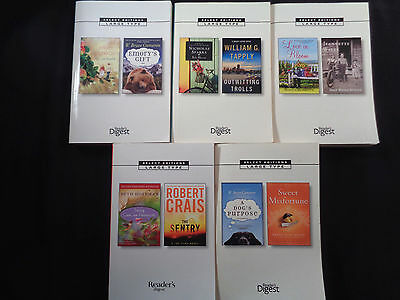 Lot of 12 Readers Digest Select Edition Large Print, PB, VG-Like New,