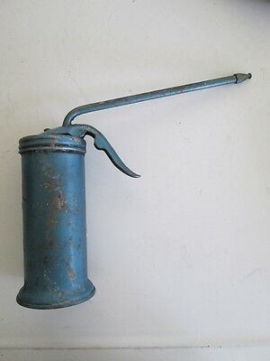 Small Blue Eagle Oil Can w/ Pump Made In USA