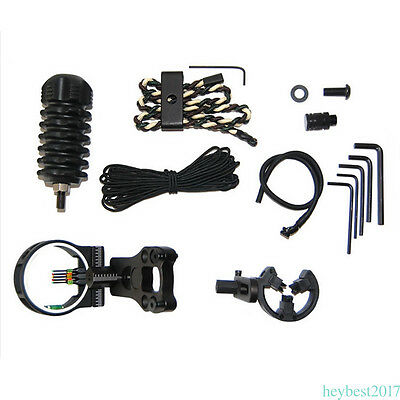 Upgrade Compound Bow Archery Combo Accessories Bow Kit Stabilizer Black AR68