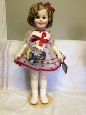 Vintage Ideal 1984 Shirley Temple Doll in Stand Up & Cheer Outfit Button TAGS