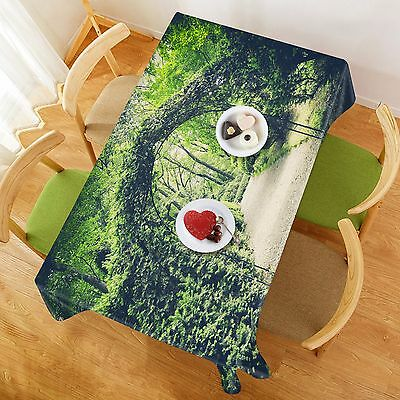 3d Vine Arches 41 Tablecloth Table Cover Cloth Birthday Party Event