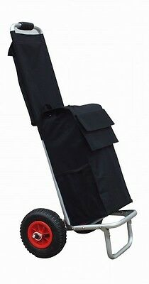 Foldable Transport cart From Aluminium with Carry bag and Shopping bag