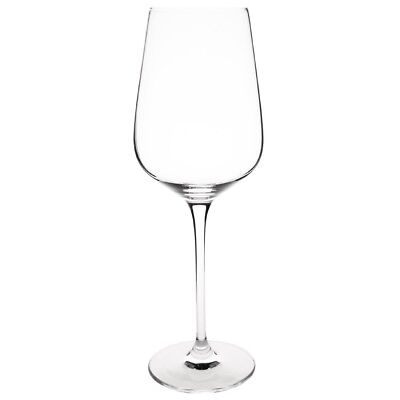 6X Olympia Crystal Claro Wine Glass 430ml 15oz Cocktail Drink Restaurant Home
