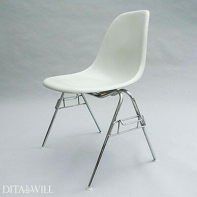 A Set Of Six Eames Dss Side Chairs, For Herman Miller, Charles & Ray Eames, 1983