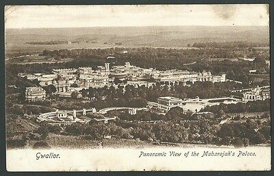 Gwalior India Maharajahs Palace 1906 Wrench Series Printed Postcard