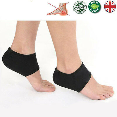 1 Pair Plantar Fasciitis Protector Foot Arch Heel Pain Relief Sleeve Cushion NEW