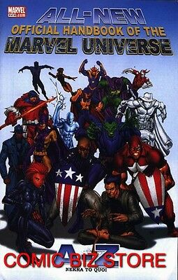 All-New Official Handbook Of The Marvel Universe #8 (2006) Marvel Comics