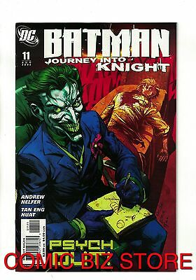 Batman Journey Into Knight #11 Joker Cover (2006) Dc Comics