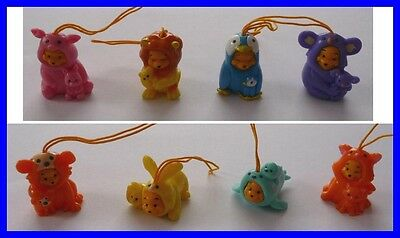 SET 8 Figure WINNIE POOH ME EDITION CUCCIOLI BABY Mini Winnies TOMY ITALY Rare
