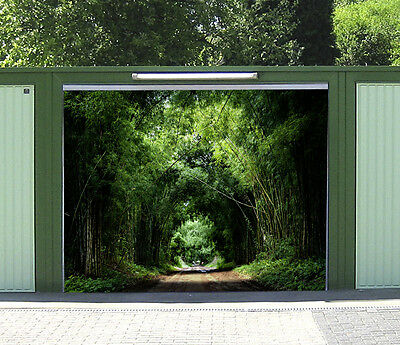 Etonnant 3D Slender Woods Garage Door Murals Wall Print Decal Wall Deco AJ WALLPAPER  AU