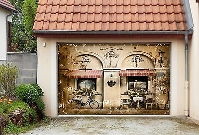 3D Exquisite house Garage Door Murals Wall Print Decal Wall Deco AJ WALLPAPER AU