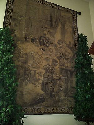 Magnificent 7 ft tall Vintage/Antique Tapestry ? Reduced Price!!!