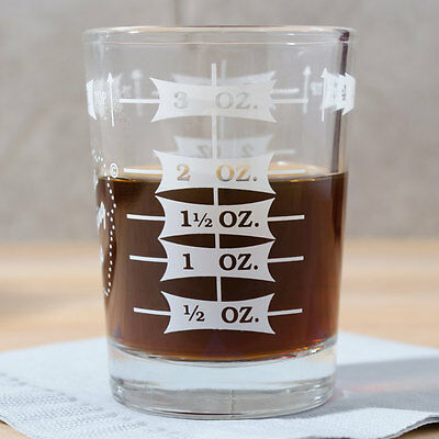 Usa Seller   Espresso Measuring Glass Libbey 5134/1124N  Free Shipping Us Only