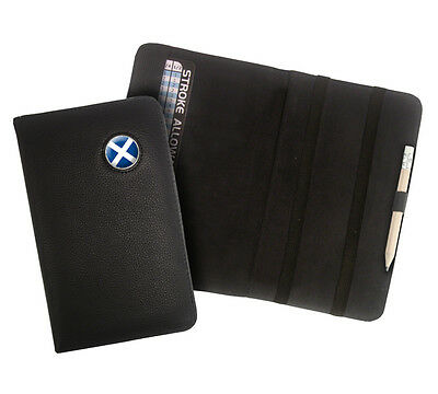 Asbri Leather ScoreMaster Golf Scorecard Holder