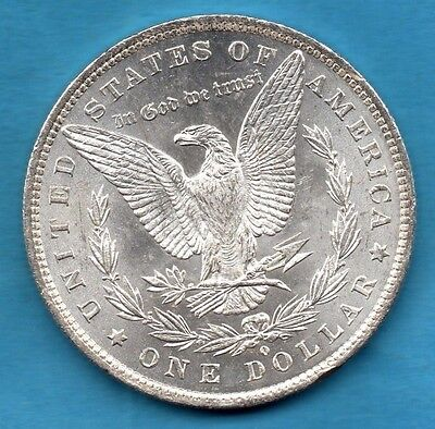 1884 Usa Silver Morgan Dollar Coin. New Orleans Mint. United States America $1