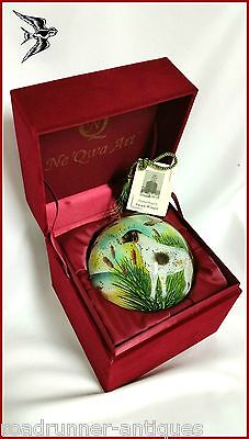 Pointer Dog Neqwa Ducks At Dawn Ornament Hunt Retired Very Rare New Susan Winget