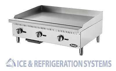 """Atosa 36"""" Commercial Countertop Gas  /  Propane Heavy Duty Griddle ATMG-36"""