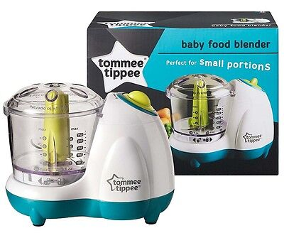 Baby Food Maker Blender Steamer Bullet Processor Tommee Tippee Toddler Small