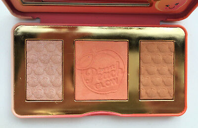 New 3color Makeup Cosmetic  eyeshadow Palette Sweet Peach Blush Palette Beauty