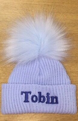 Personalised Pompom Hat