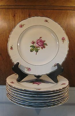 """VICTORIA Federal Shape by SYRACUSE ☆ 10"""" Dinner Plate ☆ Fine China ☆ 9 AVAILABLE"""