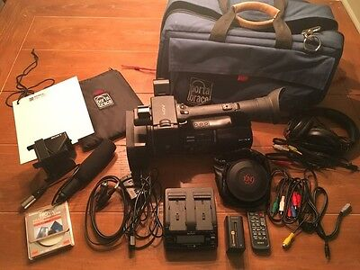 Sony HVR-Z5U Video Camera Bundle W/ Porta Brace Case And Accessories