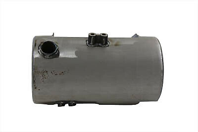 Round Oil Tank Raw Side Fill fits Harley Davidson,V-Twin 40-0189