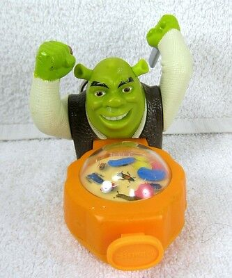 Cool SHREK the OGRE with Popping Bugs Plastic Keychain