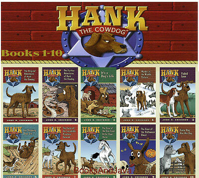 Original Adventures of Hank the Cowdog 1-10 (pb) John R. Erickson New