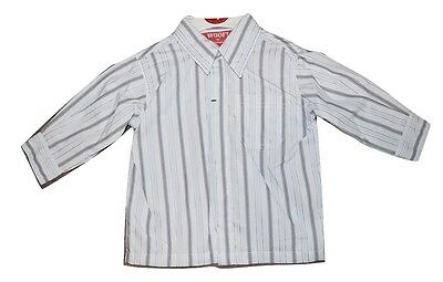 Woof By Minihaha Boys Short Sleeve Shirt Top - Stripes Size 0