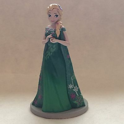 Disney Store Authentic FROZEN FEVER ELSA FIGURINE Cake TOPPER Toy QUEEN NEW