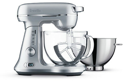 New Breville - BEM825BAL - the Bakery Boss       - Silver Pearl from Bing Lee