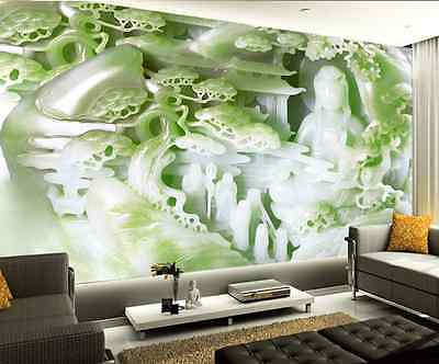 3D Jade Carving Characters 32 Wall Paper Wall Print Decal Wall AJ Wall Paper