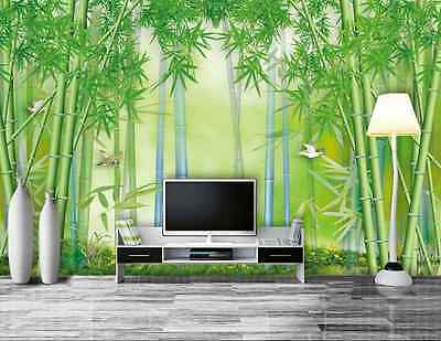 3D BAMBOO FOREST 1065 Paper Wall Print Decal Wall Wall Murals AJ