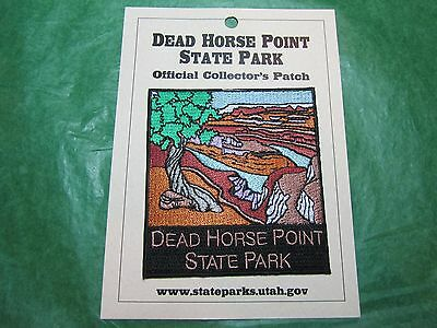 Dead Horse Point State Park Embroidered Patch Utah Travel Souvenir-P49