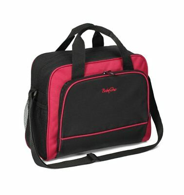 Baby Nappy Bag Black & Red
