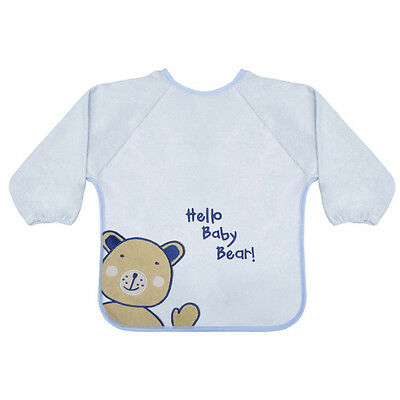 Baby Sleeved Bib with Embroidery