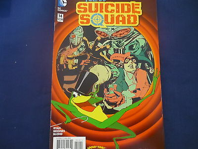DC NEW SUICIDE Squad issue 14 looney tunes cover N52 (B11)